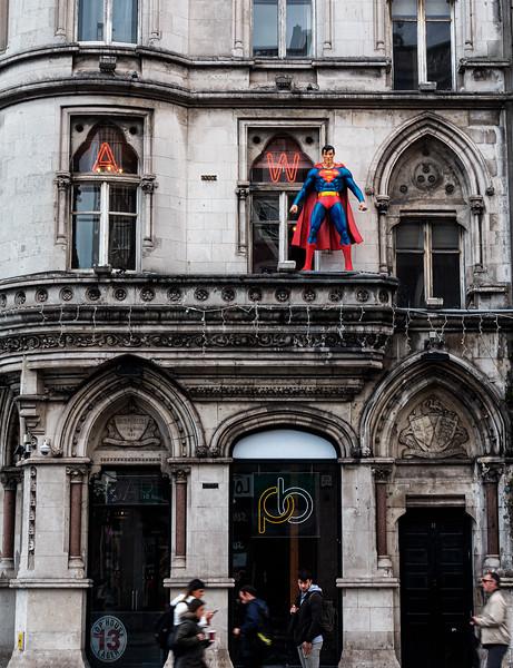 Superman in Dublin