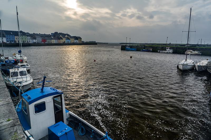 Galway Harbor; Galway, Ireland