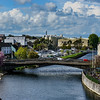 Kilkenny, Ireland; view from Kilkenny Castle