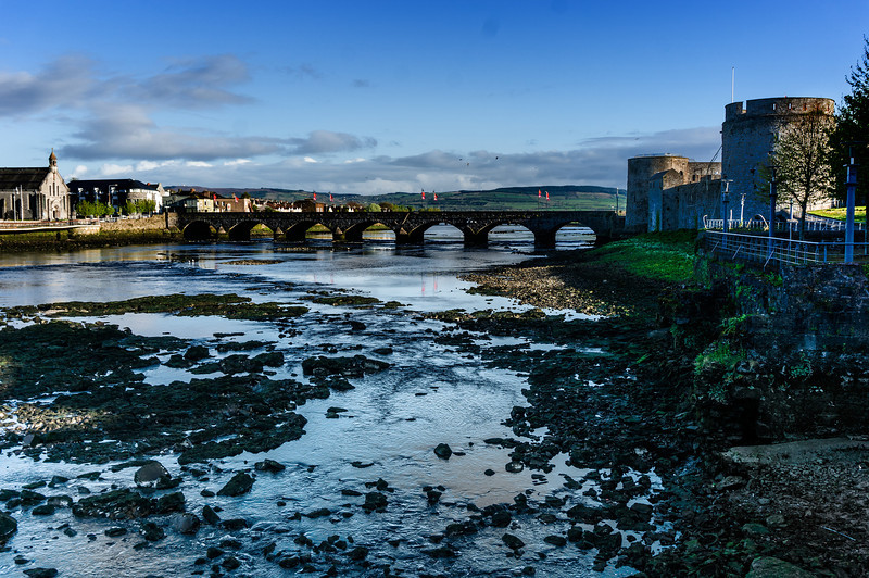 King John's Castle; Limerick, Ireland