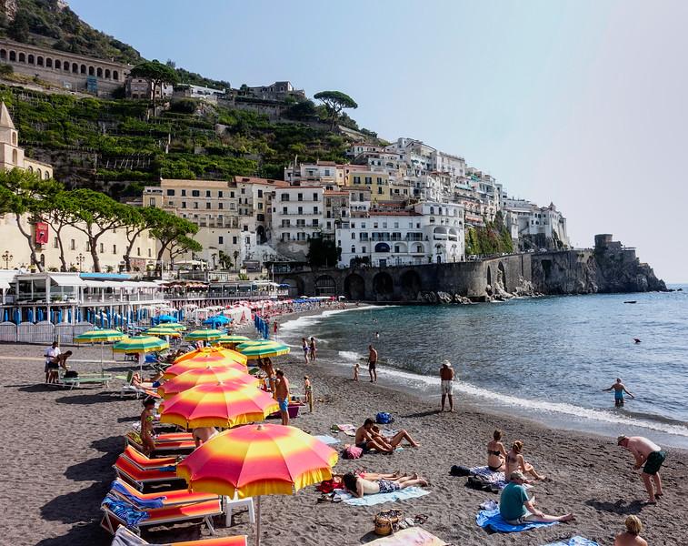 Mediteranean Beach; Amalfi, Italy