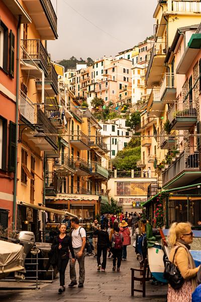 Manarola; Cinque Terre, Italy