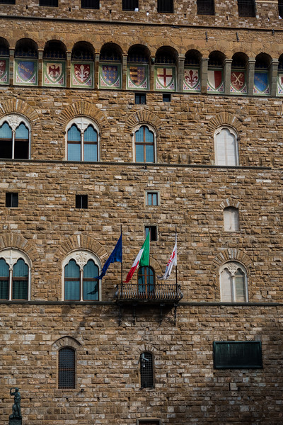 Mussolini's Balcony; Florence