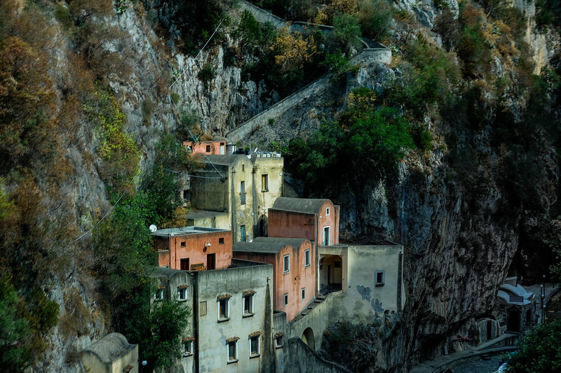 Mountainside Buildings; Positano, Italy