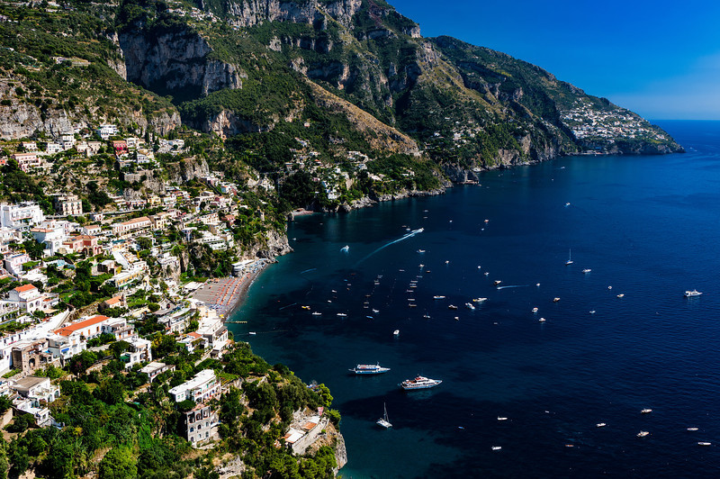 The Amalfi Coast; Positano, Italy