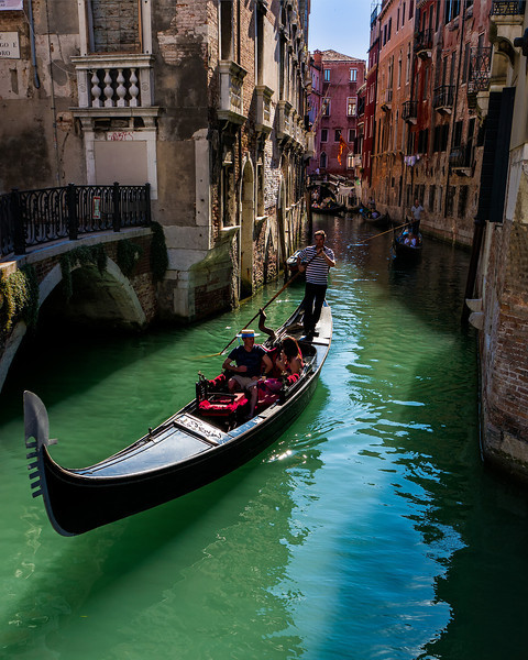 Gondolier; Venice