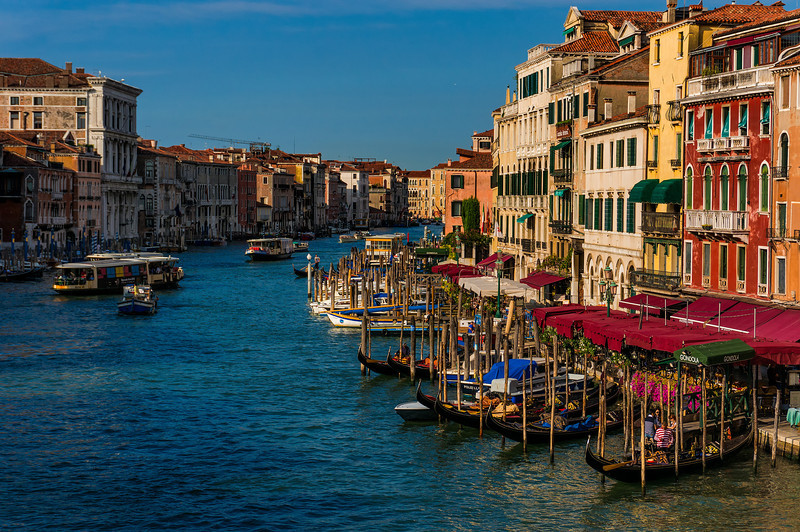 Grand Canal in the Morning; Venice