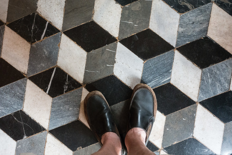 Floor Tiles, St. Mark's Cathedral