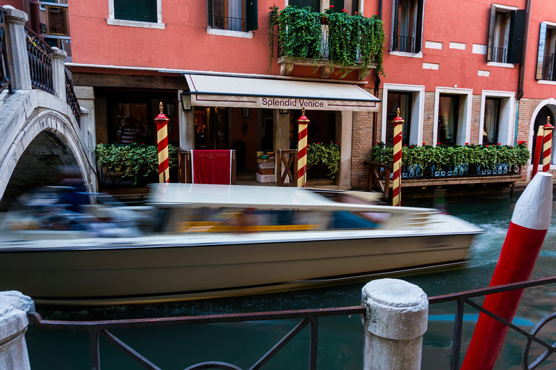 Water Taxi in Motion