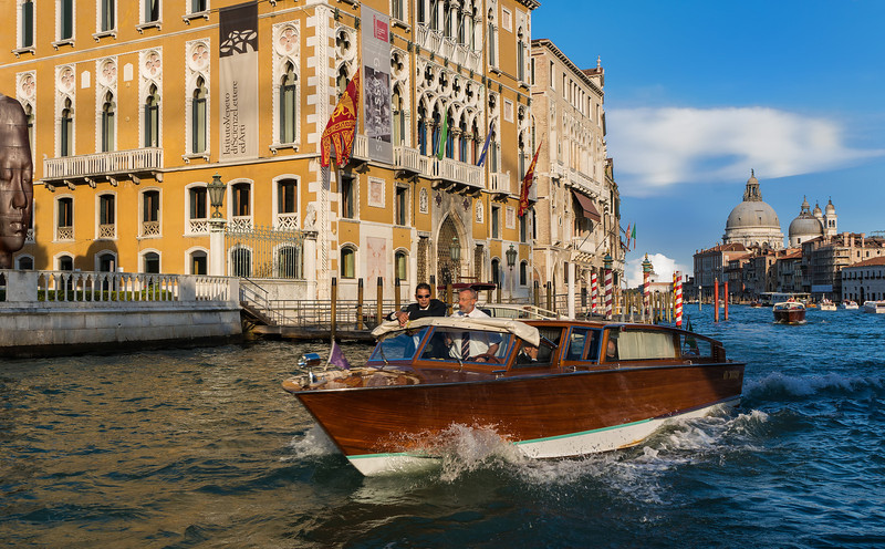 Water Taxi; Grand Canal
