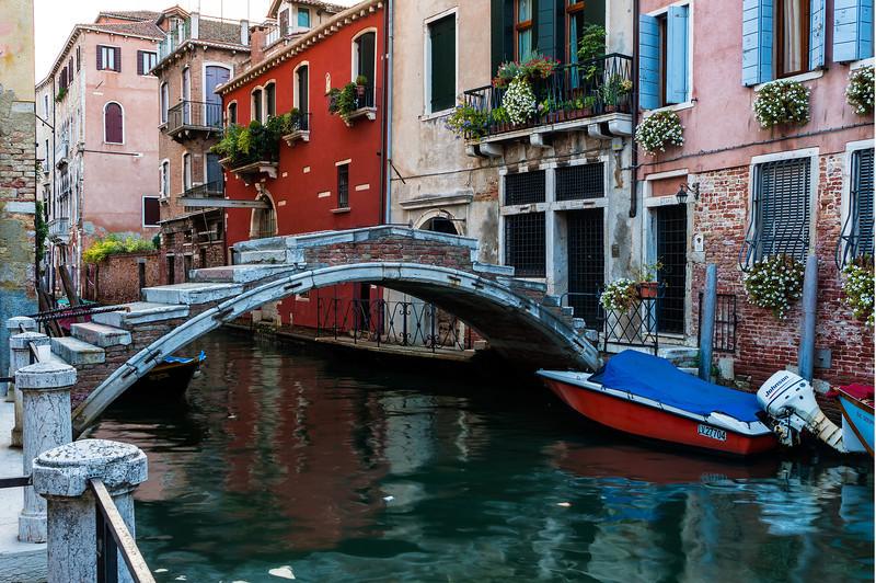 Bridge over Canal; Venice