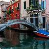 Bridge over Canal; Venice