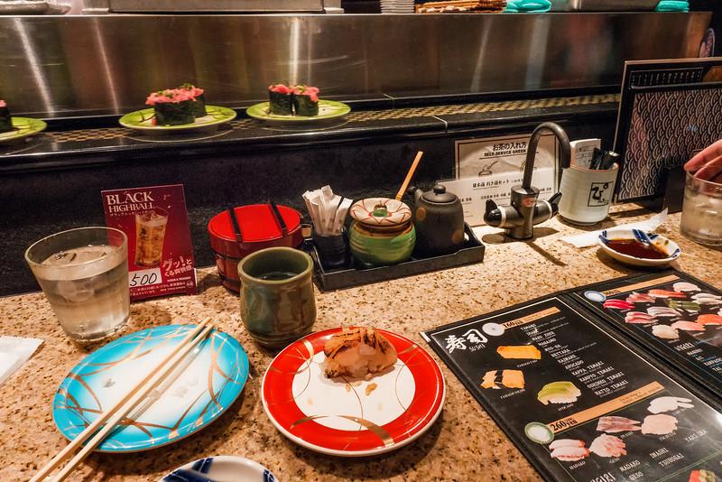 Sushi-go-round (kaiten-zushi)