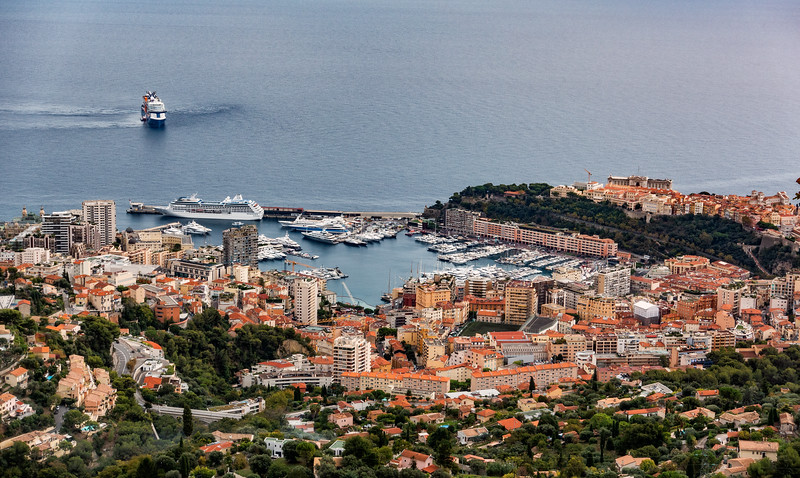 Monaco; View from Above