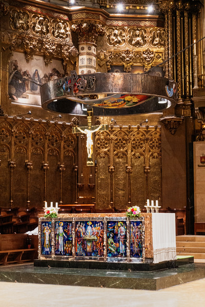 Cathedral; Montserrat