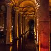Underground Cistern; Istanbul, Turkey
