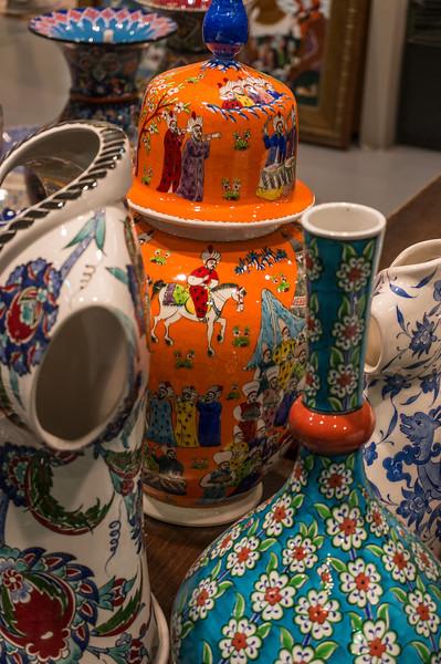Pottery; Istanbul, Turkey