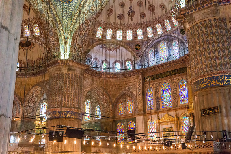 Blue Mosque; Istanbul, Turkey