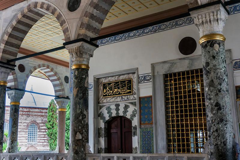Topkapi Palace; Istanbul, Turkey