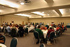 We enjoyed banquet dinners together in the ballroom at the Wytheville Meeting Center.  Chapters had their displays set up there all weekend.
