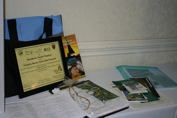Northern Neck chapter display