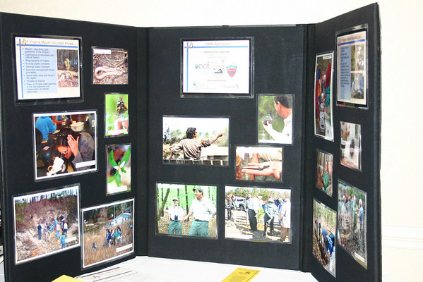 Historic Rivers chapter display