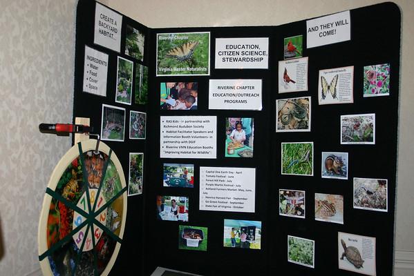 Riverine Chapter display