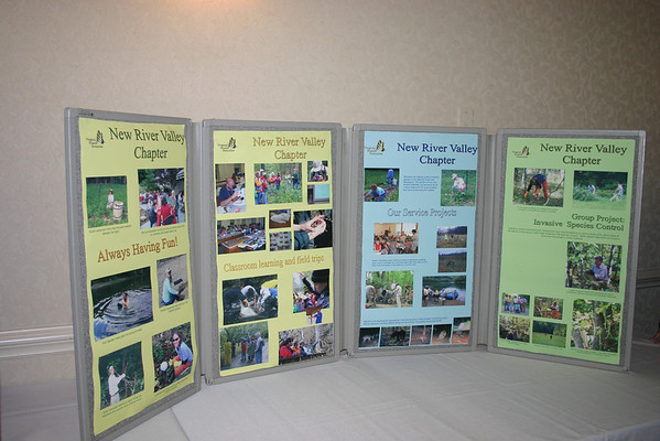 New River Valley chapter display