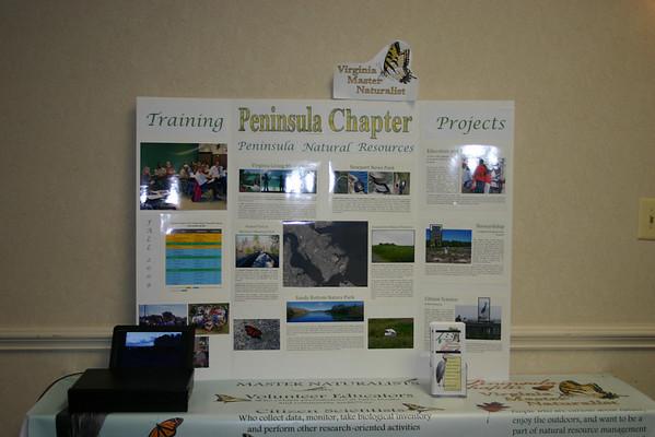Peninsula Chapter display