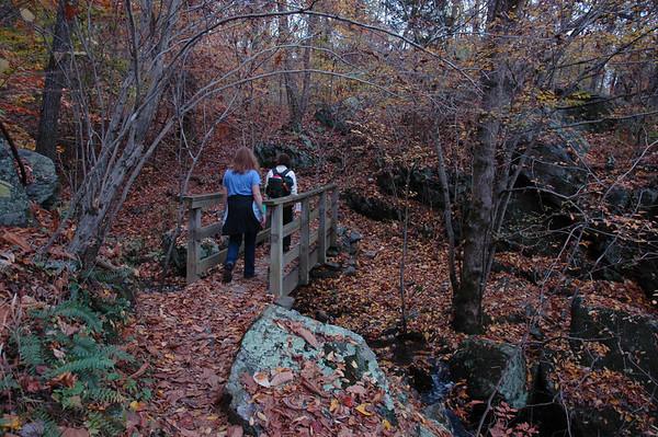 Hiking.....<br /> Photo by Carol Hammer