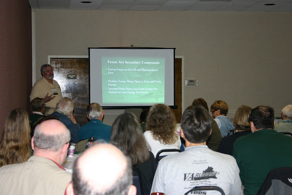 Jim McGlone (VA Department of Forestry) talks about forest health.