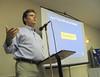 Chris Burkett, VDGIF, guest speaker <br /> (taken by T. Keffert)