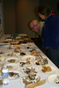 Master Naturalists look at mushroom samples and reference books collected by instructor Jon Ellifritz (Washington Mycological Association).