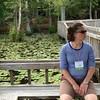 Tiffany Brown, conference coordinator extraordinaire, enjoys a short break!