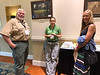 Three chapter advisors from the Virginia Department of Forestry had an impromptu discussion about their experiences in their chapters.  Left to right: Jim McGlone (Fairfax Chapter), Karen Snape (Central Rappahannock Chapter), Kathleen Ogilvy (Riverine Chapter)