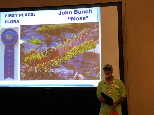 John Bunch with his award-winning photo.
