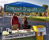"Photo by Adrie Voors (VMN-Headwaters Chapter). The Harrisonburg Farmers Market managers have attributed our Market Compost Drop-off program with their receiving a Virginia Green Travel Award as indicated in the newsletter under ""Proudly Green"" below, dated December 1, 2017. This project is coordinated by Adrie Voors (VMN-Headwaters Chapter) and Art Fovargue (another dedicated community member), and is a Headwaters Master Naturalists' project which collaborates with the Climate Action Alliance of the Valley (CAAV), a local small not-for-profit which lets us use their website and treasury.  To date, seven Headwaters Chapter members have participated in the project."
