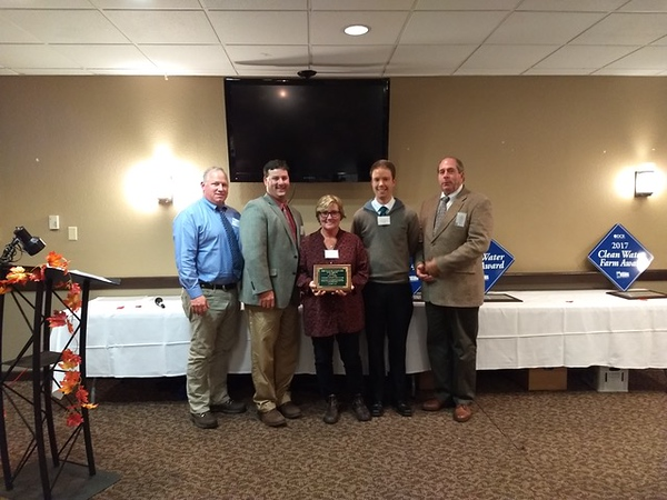 The Culpeper Soil & Water Conservation District's 2017 Wildlife Award was given to Dana Squire of Old Rag Master Naturalists. From 2012 to 2013 Dana worked with various government agencies to turn her entire backyard – about 4.5 acres – into a wildflower meadow. From bees to butterflies and a great variety of songbirds, truly the wildlife has benefited greatly. Dana has had to commit herself to doing prescribed burning with the Virginia Department of Forestry to keep the meadow in shape and has done invasive species control through the Blue Ridge PRISM project. In addition to Old Rag Master Naturalists, where she oversees the VMN reporting system, is an ex officio member of the board, and volunteers in so many projects such as Old Rag Restoration, Dana is also heavily involved with the Virginia Working Landscapes (VWL) program of the Smithsonian Conservation Biology Institute. Dana was a part of the first cohort of citizen scientists trained and deployed by Smithsonian scientists to conduct biodiversity surveys on private lands throughout the VWL region in 2010. Rather than limiting herself to a single survey type, as many citizen scientists do, Dana has participated in grassland bird, plant and pollinator surveys over her 7-year commitment to the program.