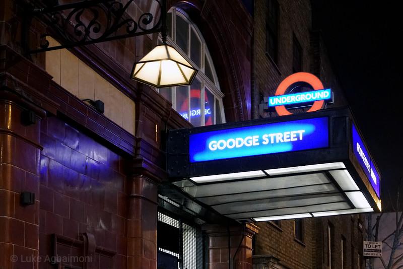 Goodge Street Station