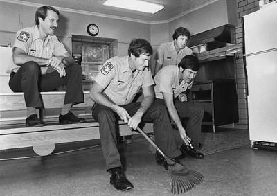 L-R: Jerry Rushing, John Green, Jack Henderson, Bubba Benningfield