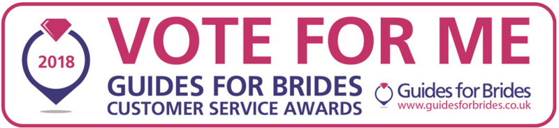Shortlisted for the Guide for Brides Award