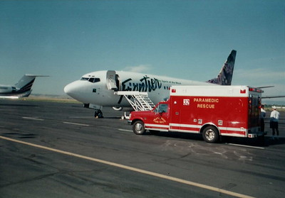 Rescue 32 at Centennial Airport Medical