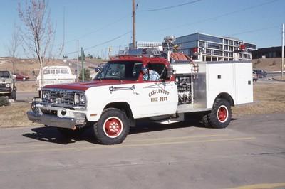 1976 Dodge / Pierce with a 250 gpm pump