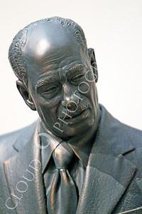 STY - Anwar el-Sadat 00003 An artist's impression of Egyptian President Anwar el-Sadat, as if he was talking to Israel's leader, Golda Meir, by Peter J Mancus