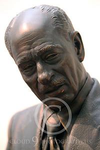 STY - Anwar el-Sadat 00001 An artist's impression of Egyptian President Anwar el-Sadat, as if he was talking to Israel's leader, Golda Meir, by Peter J Mancus