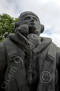 BRAFWWIIT 00021 Another view of a solemn tribute in southern England to courageous WWII British RAF aircrew, by Peter J Mancus