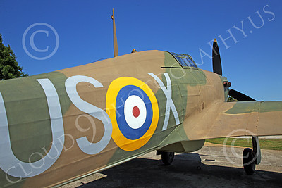 BRAFWWIIT 00027 British RAF Hawker Hurricanes were lethal against the German Air Force during WWII, by Peter J Mancus