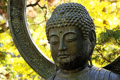 STY - BUDDHA 00008 A Buddha statue looks down, peacefully, by Peter J Mancus