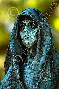 Sty-Cem 00023 A ghoulish cemetery statue, statue picture by Peter J Mancus