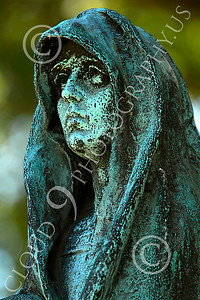 Sty-Cem 00015 A ghoulish cemetery statue, statue picture by Peter J Mancus